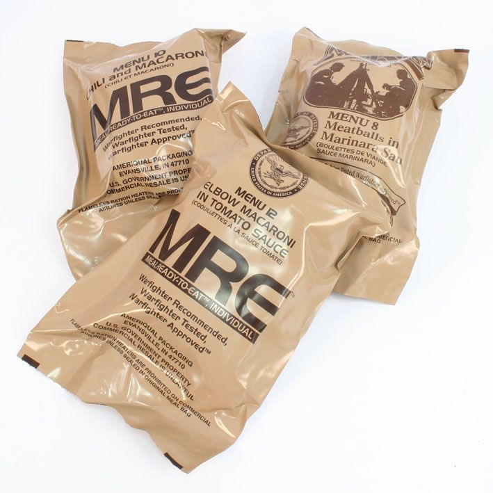 Us Military Mre Genuine Ration Pack
